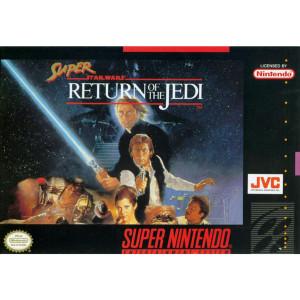 Super Return of the Jedi Complete Game For Nintendo SNES
