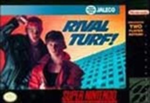 Complete Rival Turf - SNES