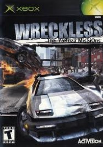 Wreckless - Xbox Game