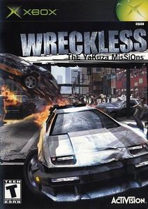 Wreckless Yakuza Missions - Xbox Game