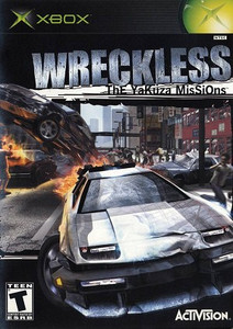 Wreckless Yakuza Missions - Xbox Game