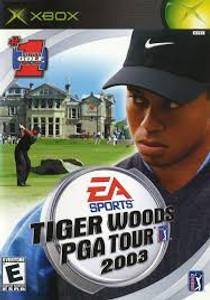 Tiger Woods PGA Tour 2003 - Xbox Game