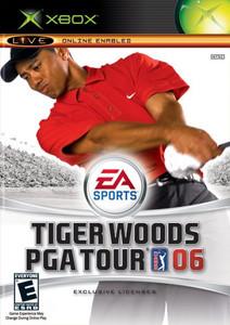 TIGER WOODS PGA Tour 06 - Xbox Game