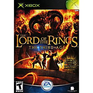 LORD OF The RINGS The Third Age - Xbox Game