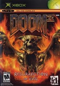 DOOM 3 Resurrection of Evil - Xbox Game