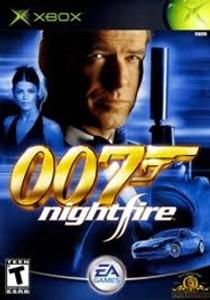 007: NIGHTFIRE - Xbox Game