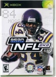 Sega NFL 2K2 - Xbox Game