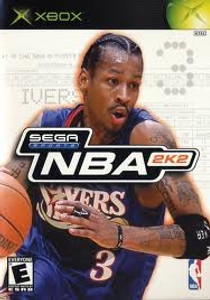 NBA 2K2 Sega Sports - Xbox Game