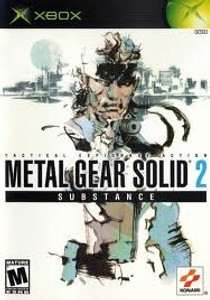Metal Gear Solid 2: Substance - Xbox Game