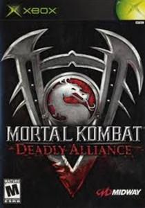 Mortal Kombat:DEADLY ALLIANCE - Xbox Game