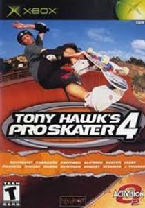Tony Hawk's Pro Skater 4 - Xbox Game