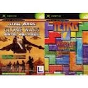Star Wars:The Clone Wars/Tetris Worlds - Xbox Game