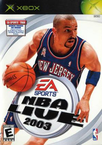 NBA Live 2003 -Xbox Game
