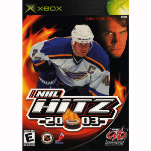 NHL HITZ 2003 Microsoft Xbox hockey game