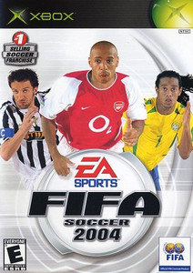 FIFA Soccer 2004 - Xbox Game
