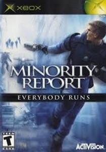 Minority Report - Xbox Game