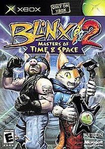 Blinx 2 Masters of Time & Space - Xbox Game