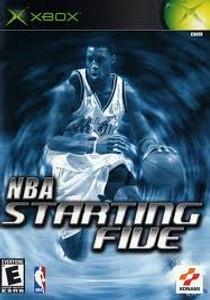 NBA Starting Five - Xbox Game