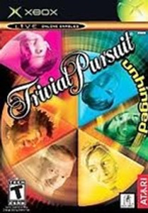 Trivial Pursuit Unhinged Xbox Game