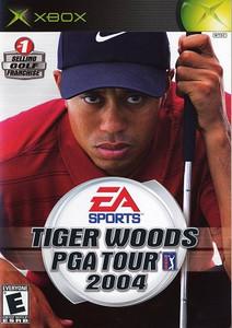 Tiger Woods PGA Tour 2004- Xbox Game