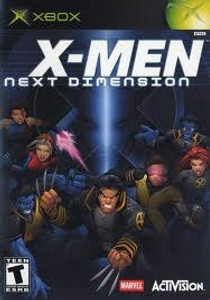 X-Men Next Dimension- Xbox Game