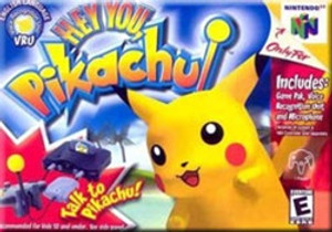 Complete Hey You, Pikachu! with Microphone - Nintendo N64