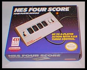 Complete Four Score - Nintendo NES