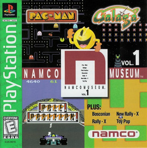 Complete Namco Museum Vol. 1 Greatest Hits - PS1 GameComplete Namco Museum Vol. 1 Greatest Hits - PS1 Game