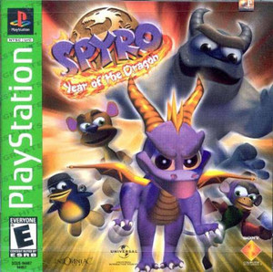 Complete Spyro Year Of The Dragon Greatest Hits - PS1 Game
