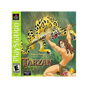 Complete Tarzan Greatest Hits - PS1 Game