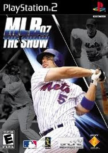 MLB 07 The Show - PS2 Game