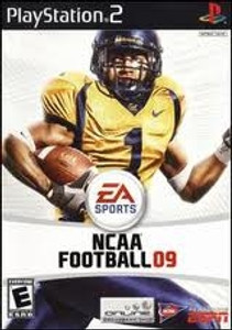 NCAA Football 09 - PS2 Game