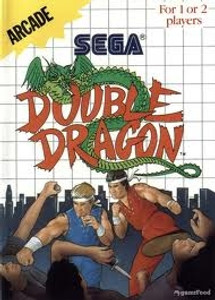 Complete Double Dragon - Master System Game