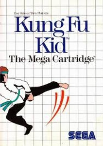 Complete Kung Fu Kid - Master System Game