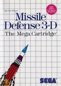 Complete Missle Defense 3-D - Master System Game