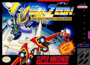 Complete Blazeon - SNES Game