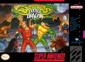 Complete Battletoads Double Dragon - SNES