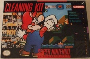 Complete Cleaning Kit Mario  - SNES