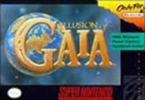 Complete Illusion of Gaia - SNES