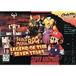 Mario Rpg SNES Game Cartridge