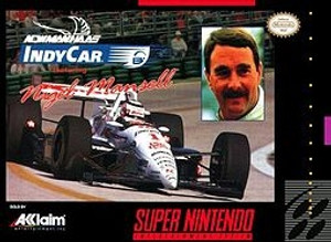 Complete Newman Haas Indy Car - SNES
