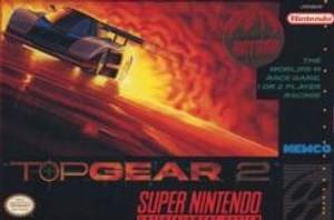 Complete Top Gear 2 - SNES