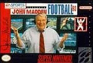 Complete John Madden Football '93 - SNES