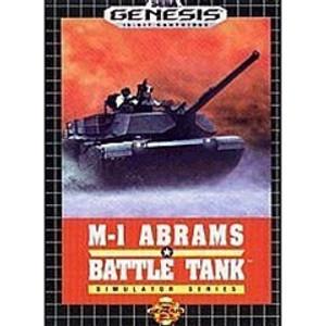 Complete ABRAMS BATTLE TANK - Genesis