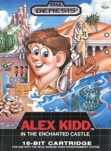 Complete Alex Kidd in The Enchanted Castle - Genesis