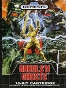 Complete Ghouls N Ghosts - Genesis