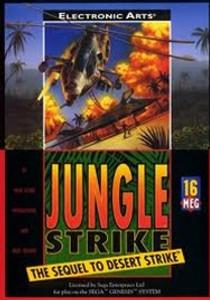 Complete Jungle Strike - Genesis