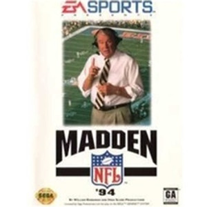 Complete Madden NFL 94 - Genesis