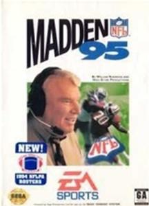 Complete Madden NFL 95 - Genesis