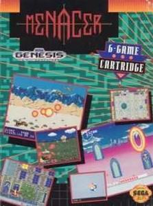 Complete MENACER 6 CARTRIDGE (6IN1) - Genesis